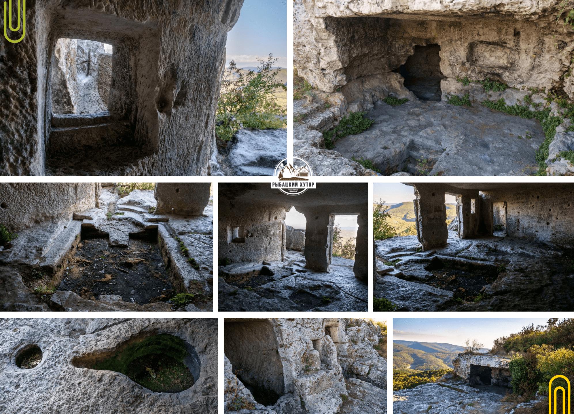 Монастырские пещерные комплексы